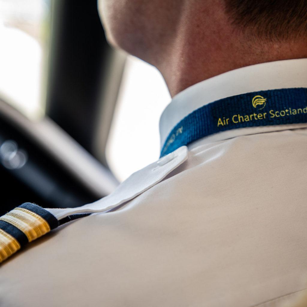 Air Charter Scotland Pilot